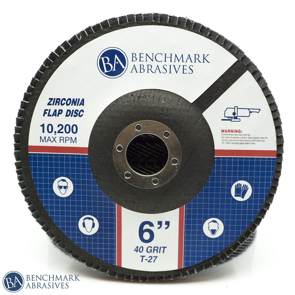 "6"" High Density Zirconia Flap Disc"