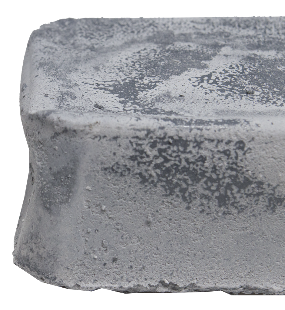 Gray Stainless Buffing Compound - 1 Pound Bar