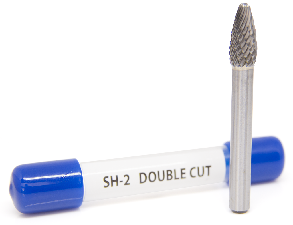 SH-2 Flame Shape - PremiumTungsten Carbide Burr