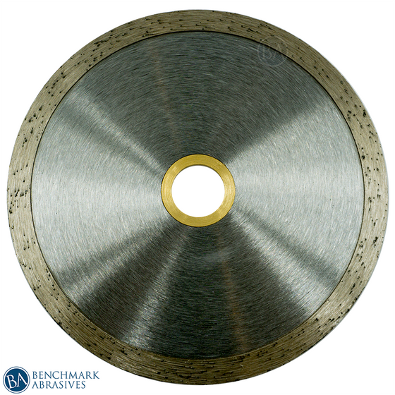 "4-1/2"" Continuous Rim Diamond Saw Blade For Clean Cuts"