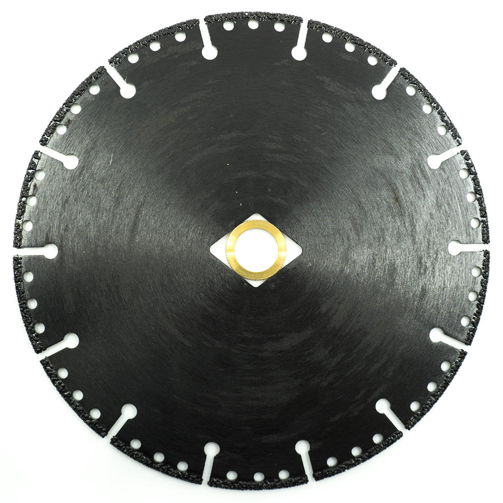 "7"" x 7/8""-DIA-5/8"" Vacuum Brazed Demolition Blade"