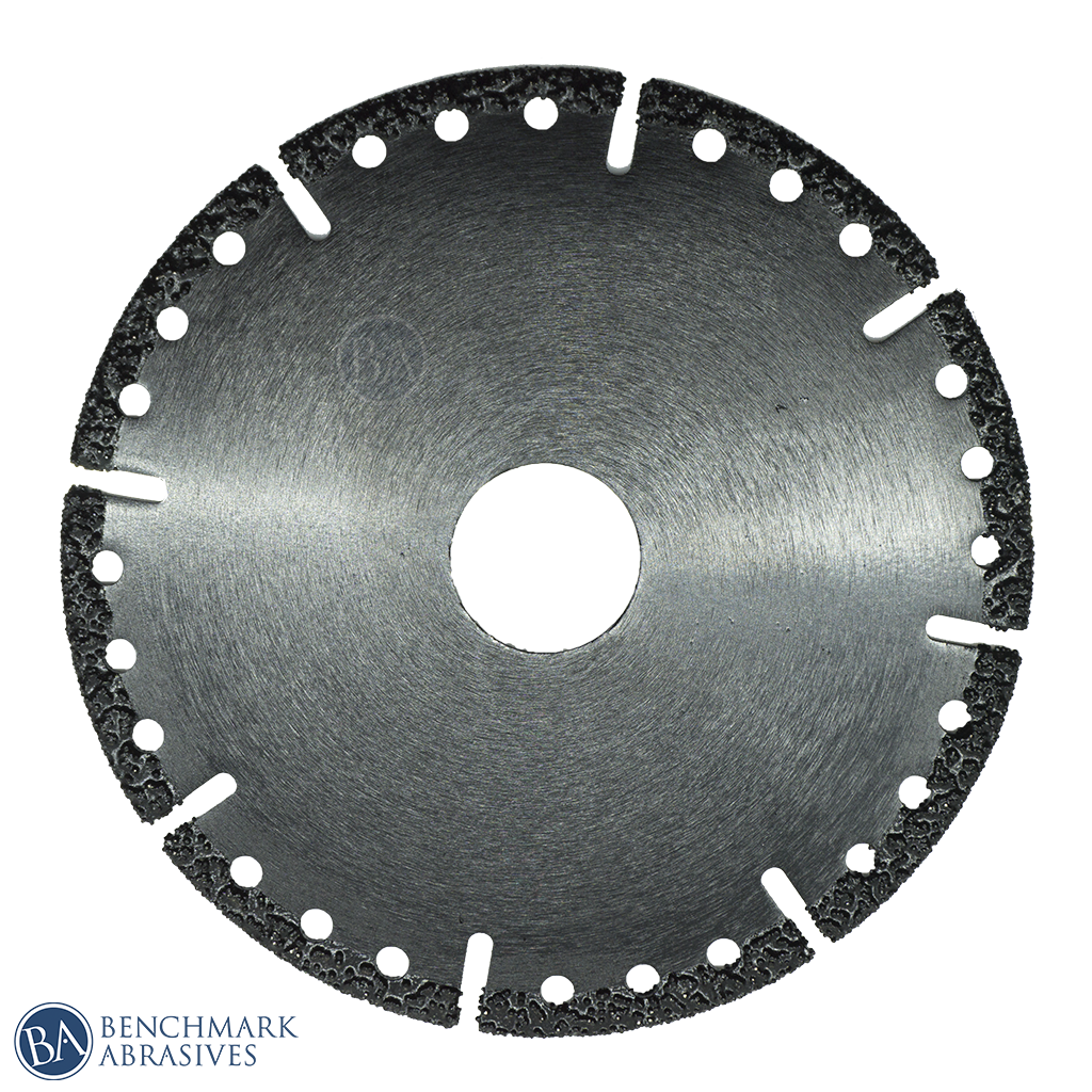 "4-1/2"" x 7/8"" Vacuum Brazed Demolition Blade"