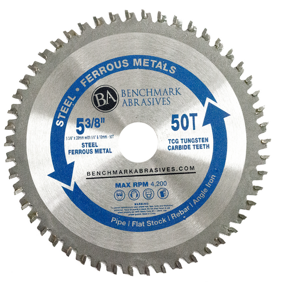 "5-3/8"" 50 Tooth TCT Saw Blade for Steel/Metal"