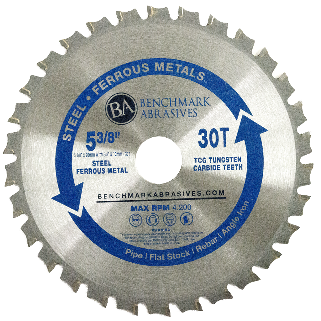 "5-3/8"" 30 Tooth TCT Saw Blade for Steel"