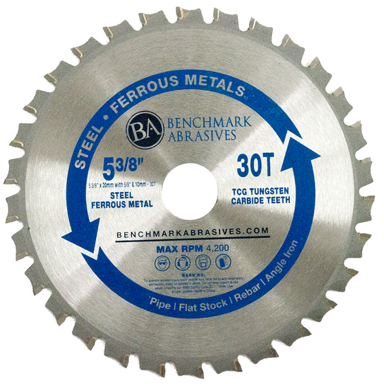 "5-3/8"" 30 Tooth TCT Saw Blade for Steel/Metal"
