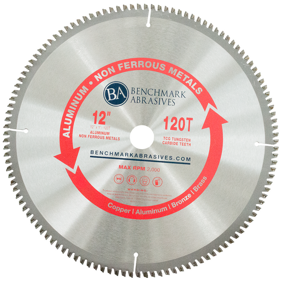 "12"" 120 Tooth TCT Saw Blade for Aluminum"