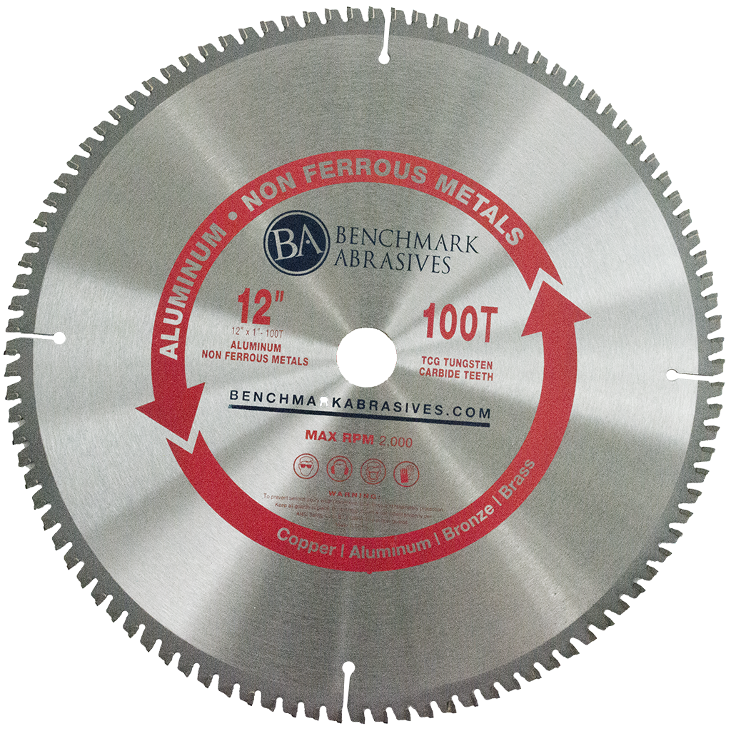 "12"" 100 Tooth TCT Saw Blade for Aluminum"