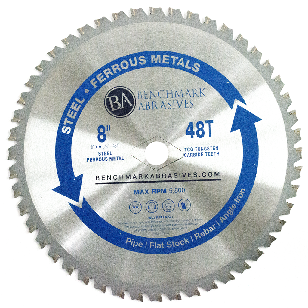 "8"" 48 Tooth TCT Saw Blade for Steel/Metal"