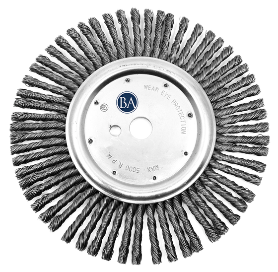 "12"" Expansion Joint Cleaning Wire Wheel"
