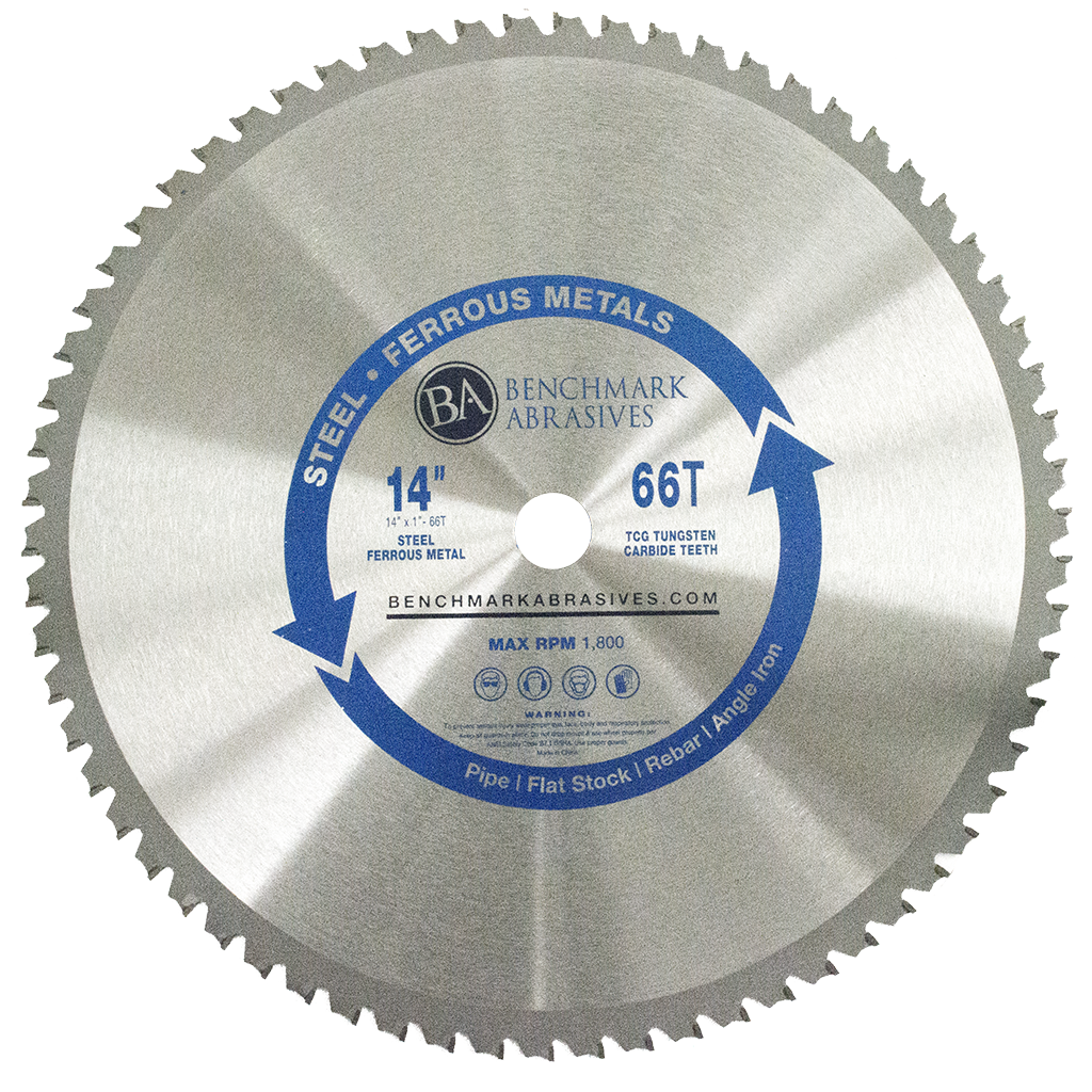 "14"" 66 Tooth TCT Saw Blade for Steel/Metal"