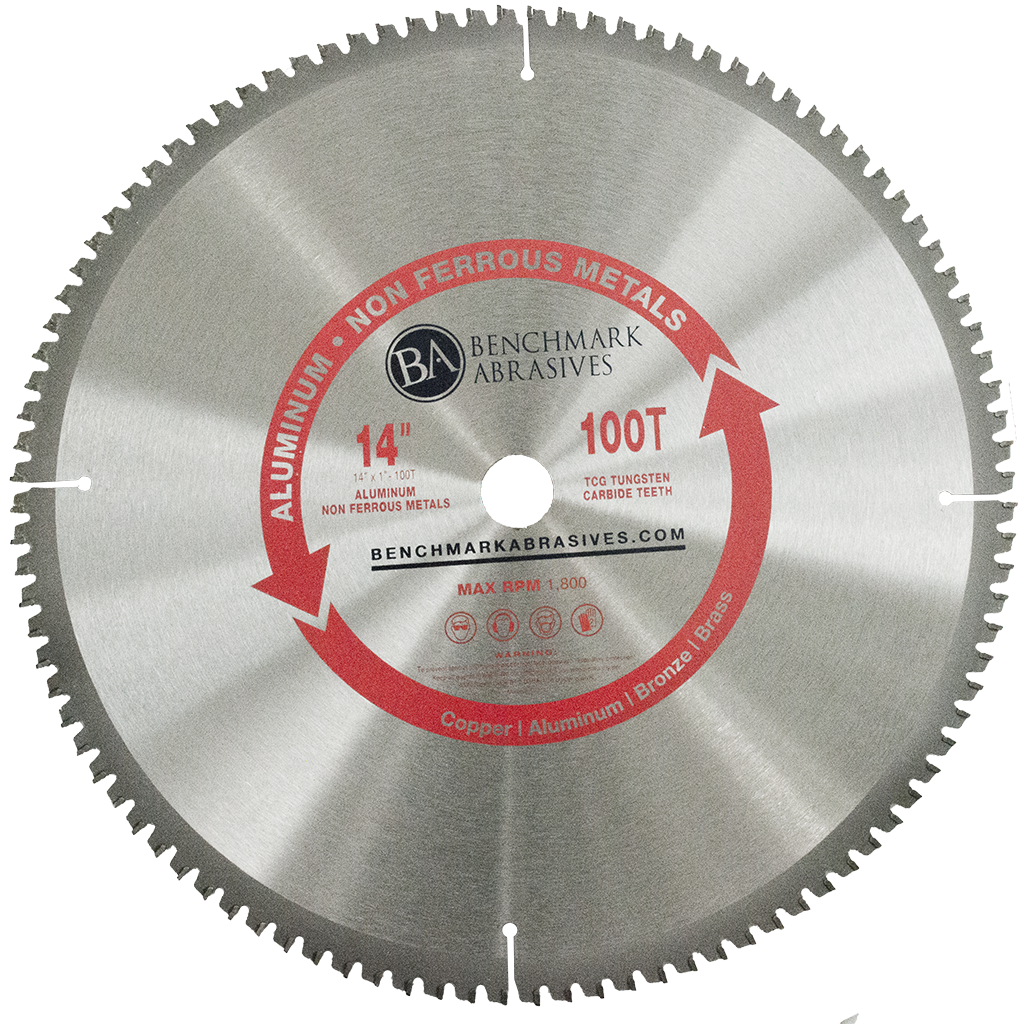 "14"" 100 Tooth TCT Saw Blade for Aluminum"