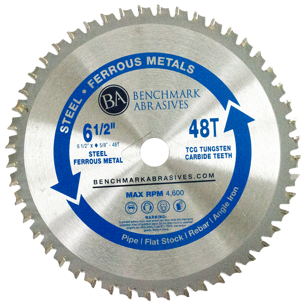 "6-1/2"" 48 Tooth TCT Saw Blade for Steel/Metal"