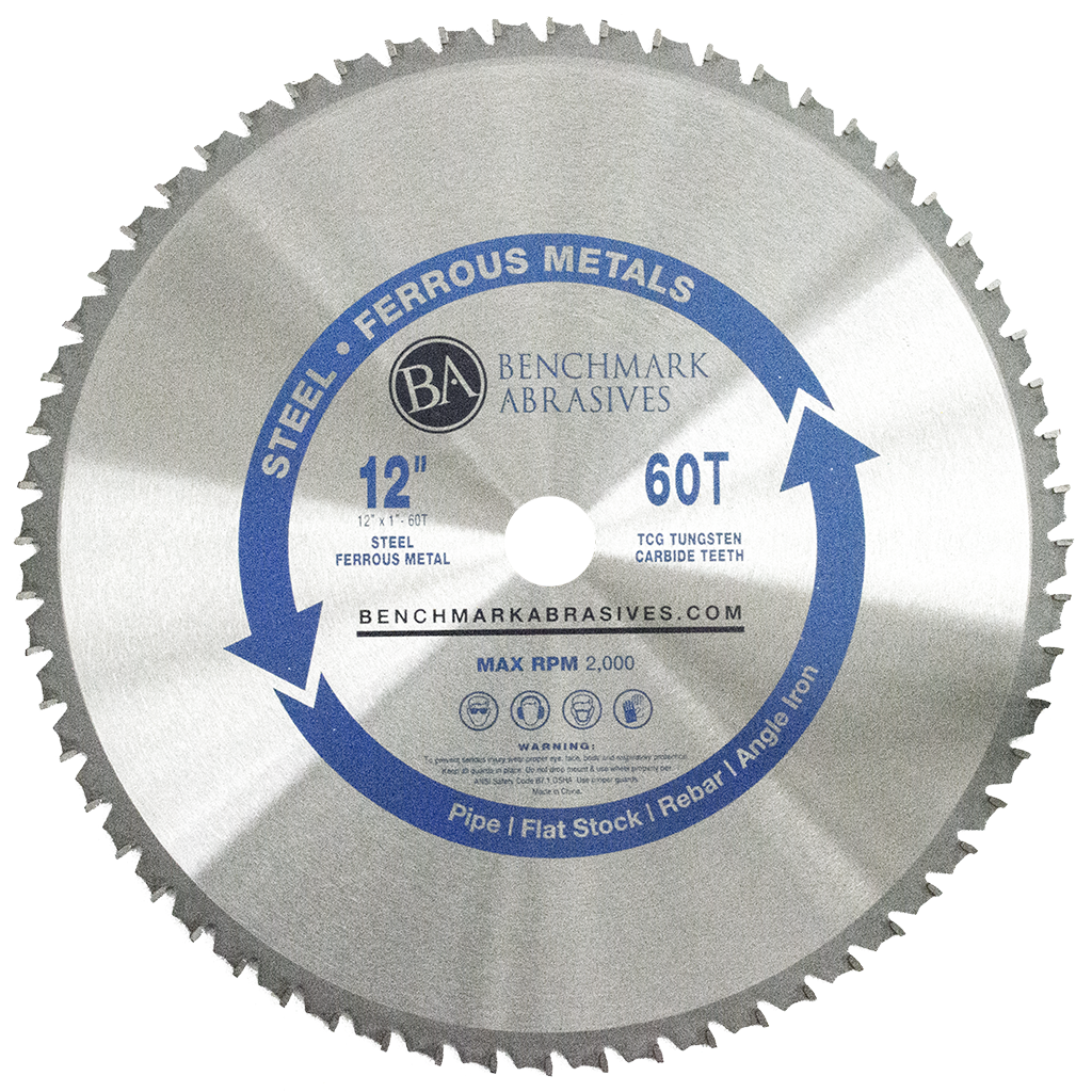 "12"" 60 Tooth TCT Saw Blade for Steel/Metal"