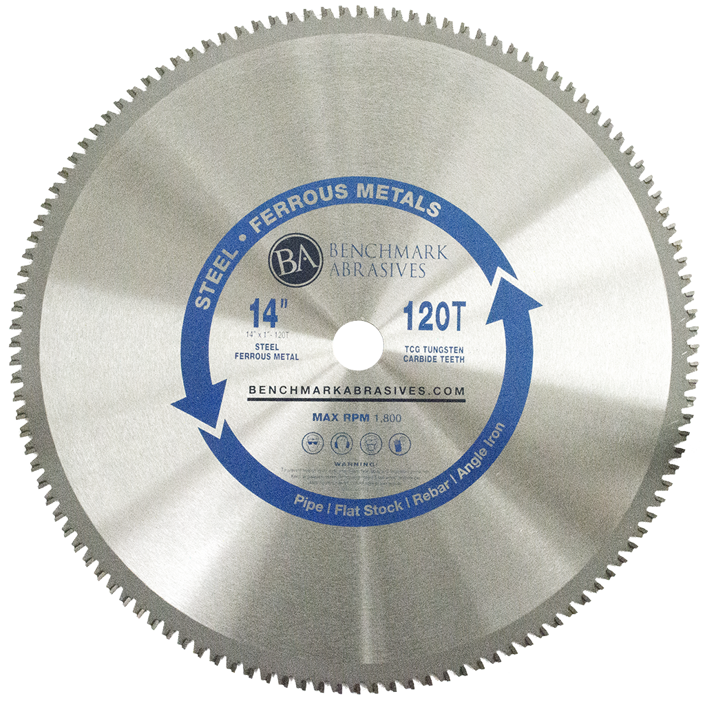 14 inch 120 Tooth TCT Saw Blade for Steel