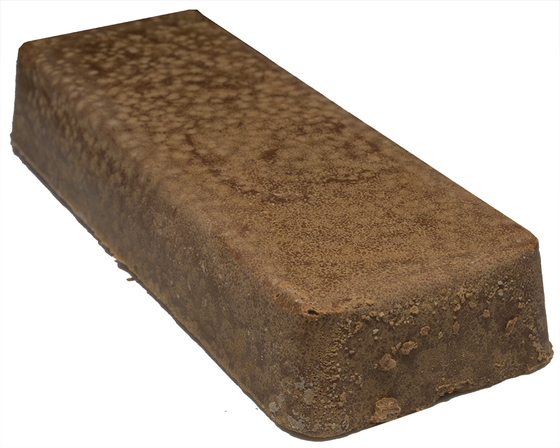 Brown Tripoli Buffing Compound 1 Pound Bar