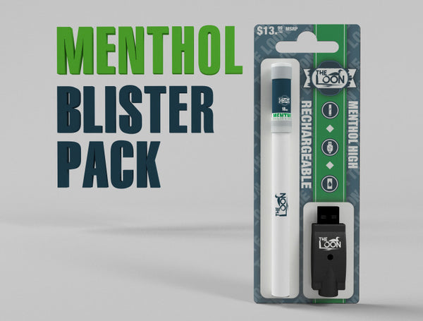The Loon Menthol Blister pack