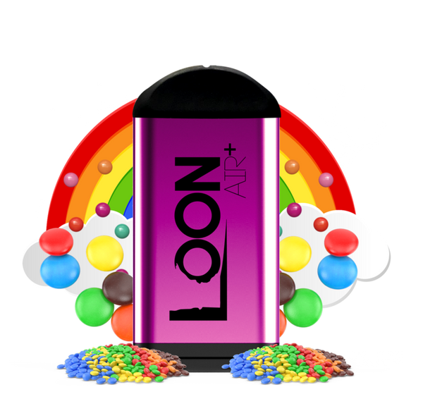 LOON AIR+ ZERO NICOTINE - RAINBOW DROPS - THE LOON