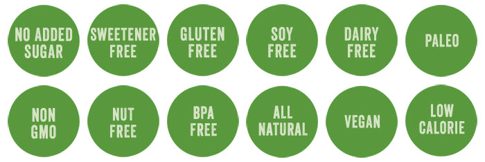 gluten free soy free dairy free paleo vegan all natural healthy diet