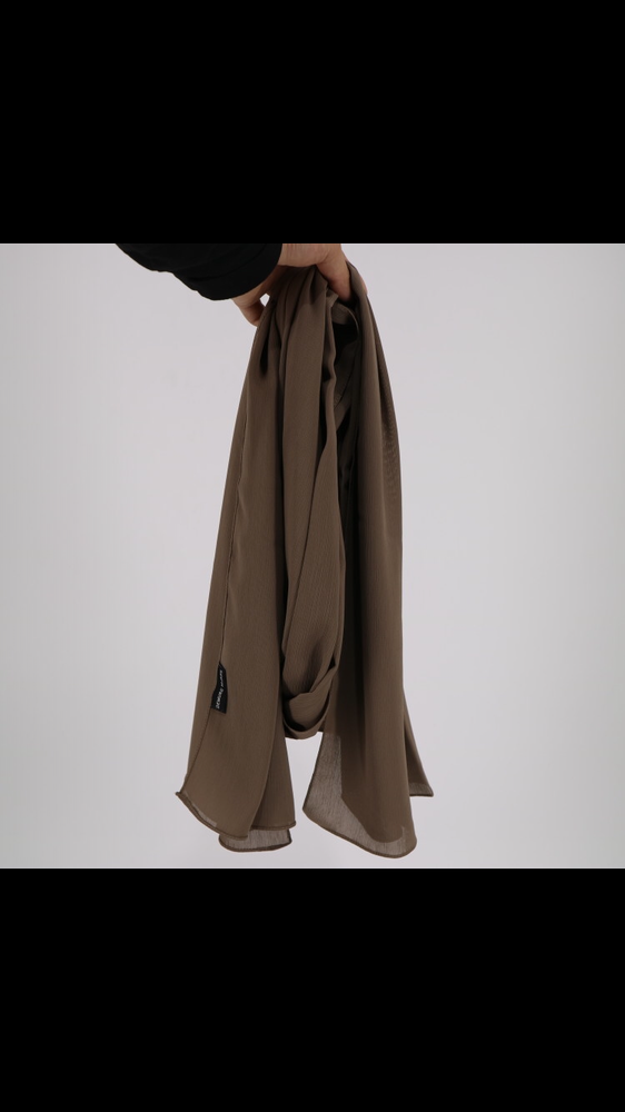 GEORGETTE CHIFFON TAUPE