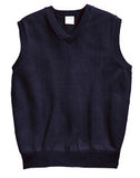 ACE - Youth V-Neck Pullover Sweater Vest with Embroidered School Logo