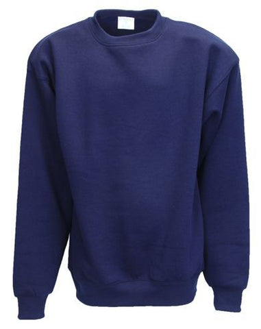 Pre-School Cotton Navy Long Sleeve Sweatshirt