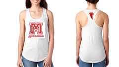 N1533 White Next Level Ladies' Ideal Racerback Tank