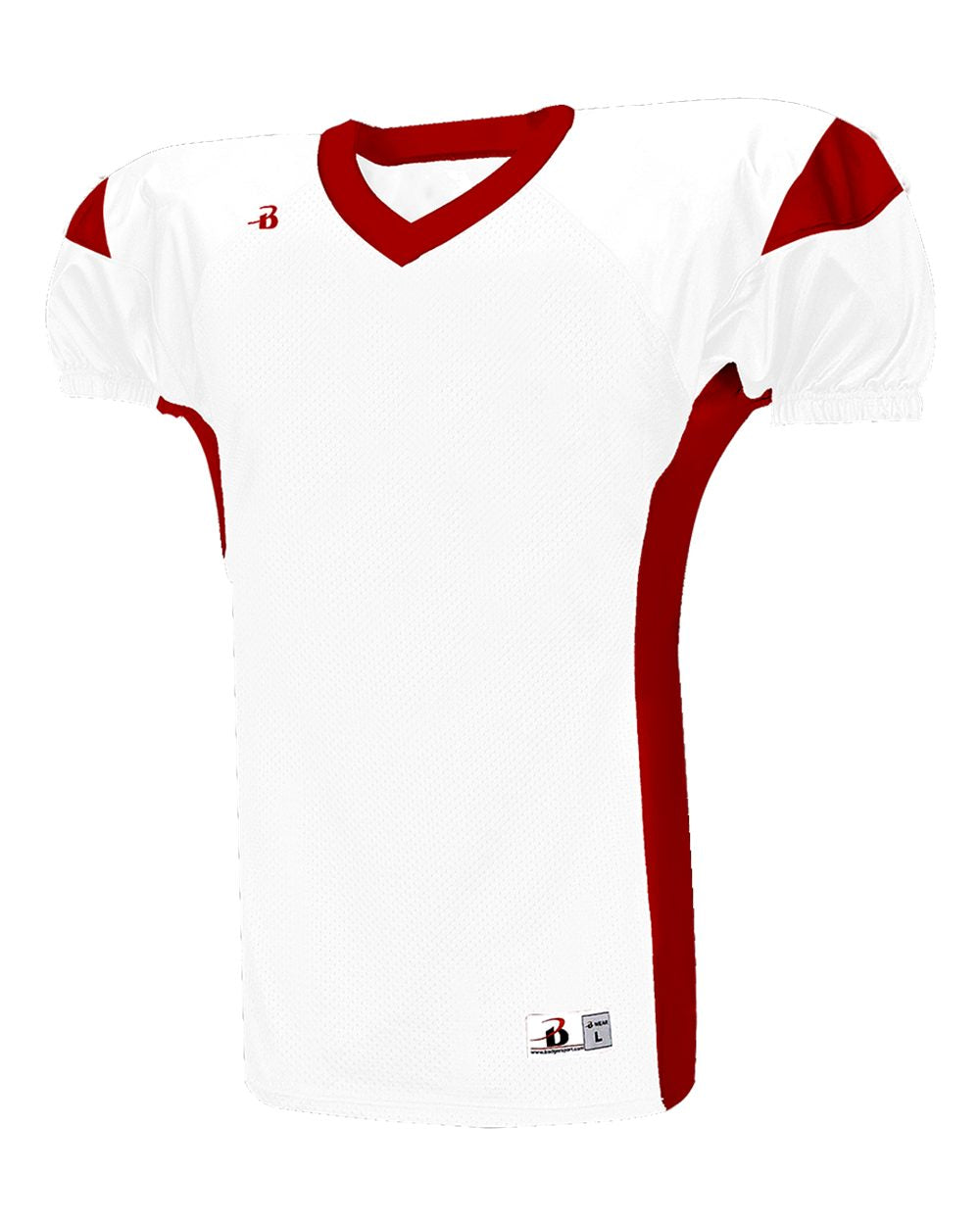 VIENNA WARHAWKS Youth Football Game Jersey - White/Red