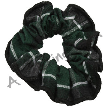 Plaid 98 Scrunchie w/Trim