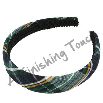 Plaid 98 Padded Headband