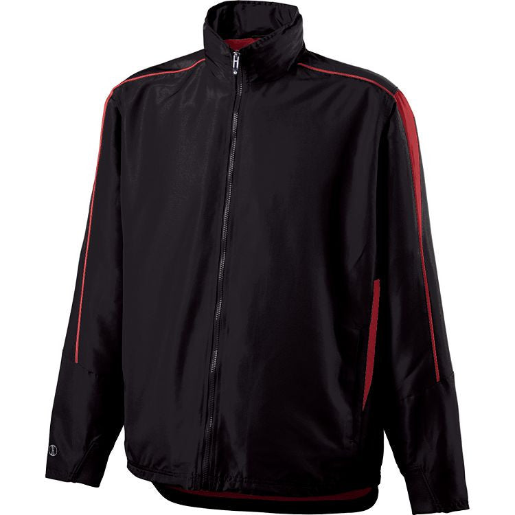VIENNA FOOTBALL Black/ Red Agression Jacket - Youth/ Adult Sizes