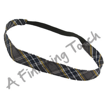 Plaid 41 Narrow Soft Headband