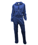 SOFFE Warm-Up Jacket and Pants Set - Royal Youth and Adult Sizes