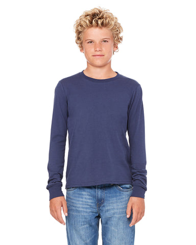 LW SWAG Navy L/S T-Shirt - Youth and Adult Sizes