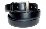 "1 1/4"" Leather Belt - Black"