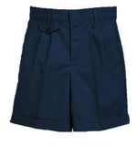 4046GR Navy Regular Flat Front Short