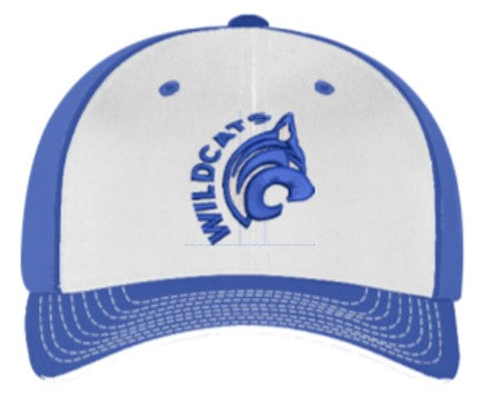 OLGC Wildcats Universal Trucker - Royal/White