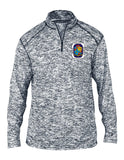 BADGER 4192 Mens PG County Heat Transfer Shield Blend 1/4 Zip