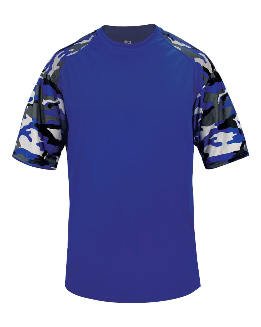 VLL Majors Dodgers OPTIONAL Camo Sport T-Shirt - All Sizes Royal