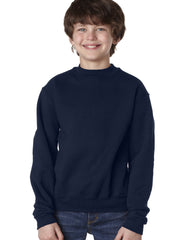 OLGC - Navy Jerzees Super Sweats® NuBlend® Fleece Crew Sweatshirt