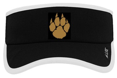 St. Timothy Custom Lite Series Active Visor - Black/ White