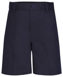 PRESCHOOL SIZES - Navy Unisex Flat Front Short