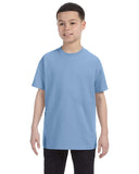 Preschool Unisex Lt. Blue Hanes Tagless T-Shirt