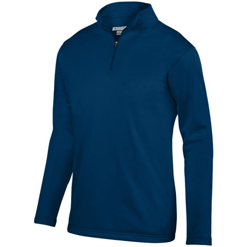 Preschool OLGC YS Performance Wicking Quarter Zip - Navy