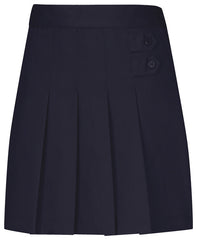 4-6X Navy Skort Pleated Tab