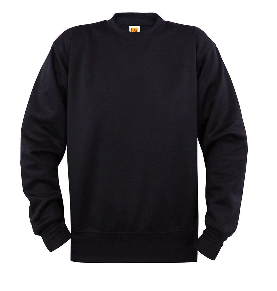 St. Luke PE Navy Blue Crewneck Performance Sweatshirt - All Sizes