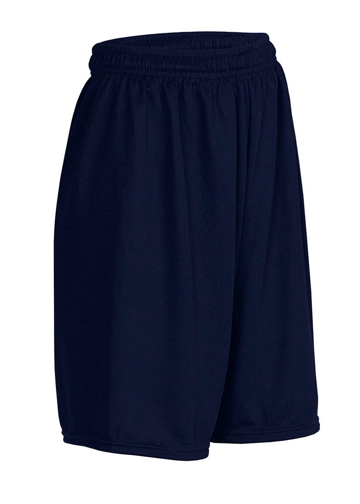 St. Luke Navy Blue Performance Mesh Gym Shorts - Unisex