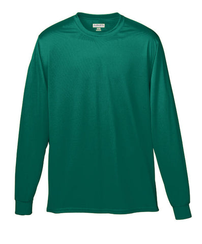 "Adult L/S Dark Green ""LORIEN WOOD"" Monogrammed Athletic T-Shirt"