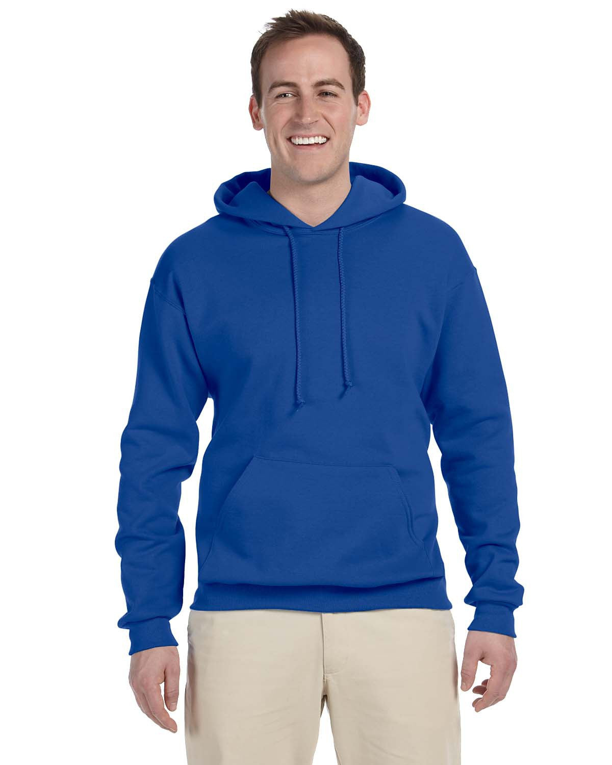 VLL Majors Dodgers OPTIONAL Jerzees 8 oz. NuBlend® Fleece Pullover Hood - All Sizes Royal