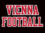 VIENNA FOOTBALL Black/ Red Heritage Jacket - Youth and Adult Sizes