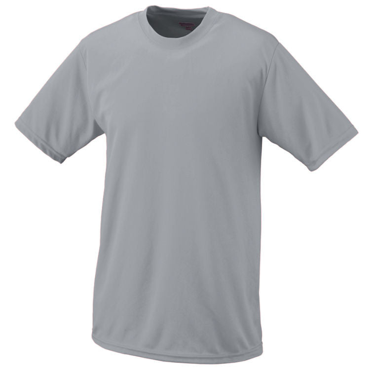 CH Adult Wicking T-Shirt - Silver Grey